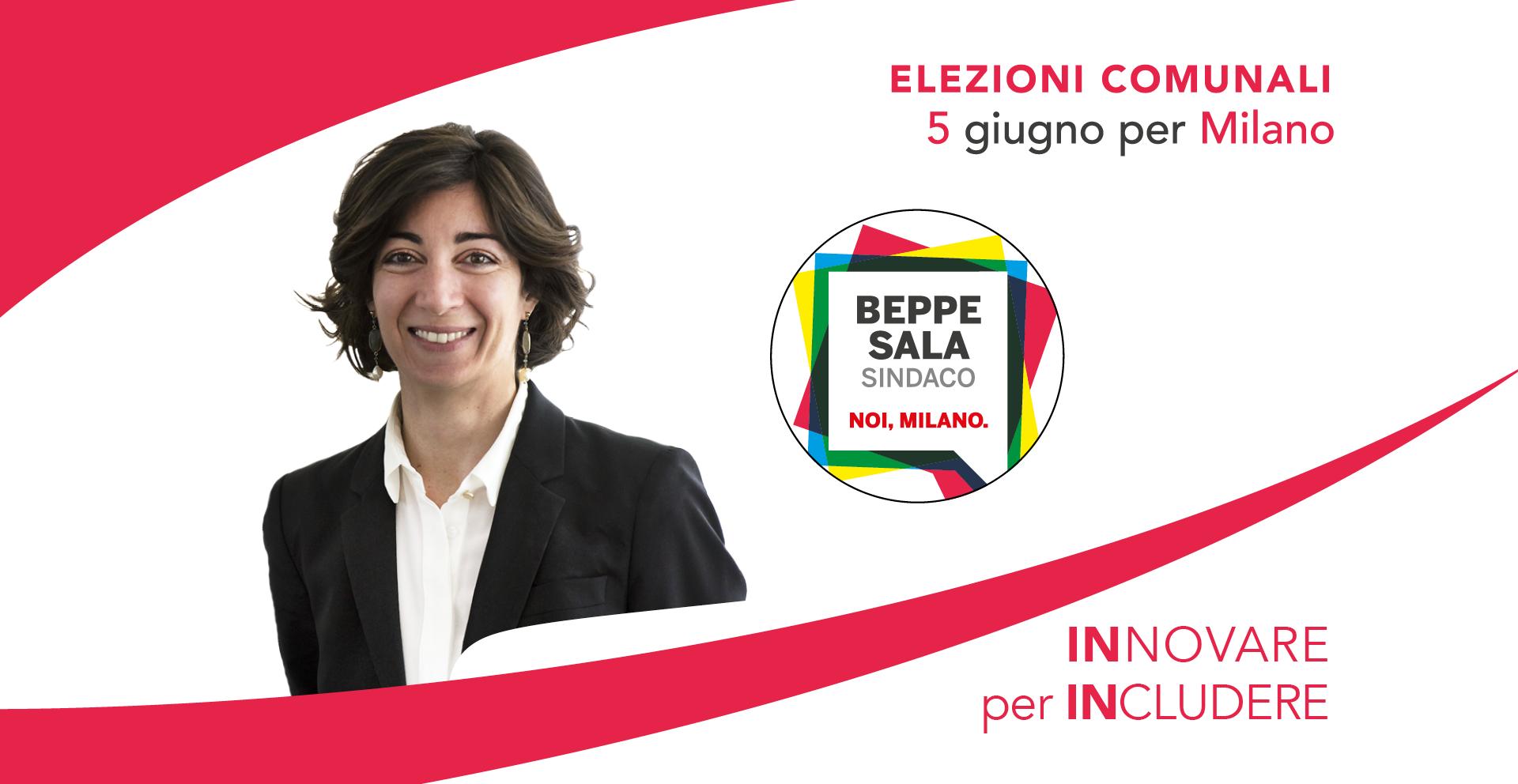 Cristina Tajani, il 5 giugno candidata alle elezioni comunali per Milano